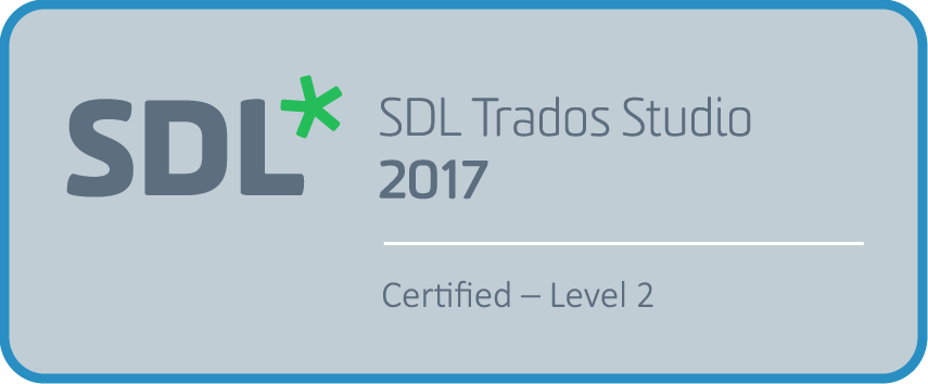 SDL Studio Certified